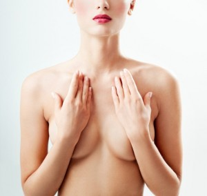 Breast-Pain-Young-Woman